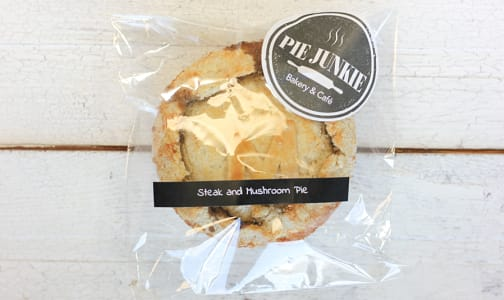 Steak & Mushroom Pie (Frozen)- Code#: PM0339