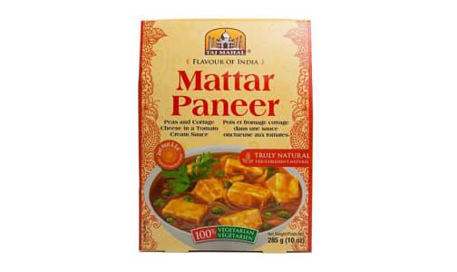 Matar Paneer (Peas/Cottage Cheese)- Code#: PM0407