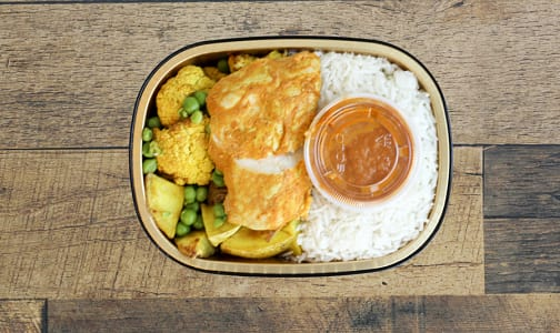 Butter Chicken with Turmeric Roasted Vegetables & Basmati Rice- Code#: PM0448