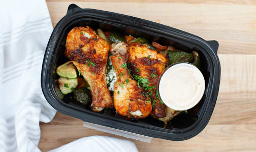 Buffalo Chicken Drumstick & Lemon Chili Aioli- Code#: PM0664