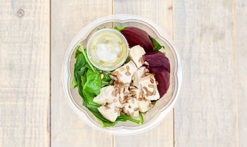 Tarragon Chicken & Spinach Salad Bowl- Code#: PM0687