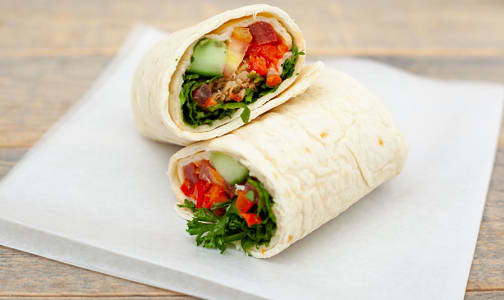 Tuscan Chicken Wrap- Code#: PM0717
