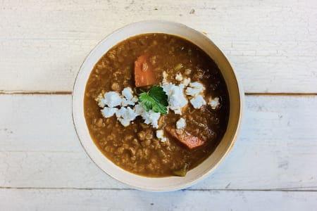 Mediterranean Lentil Soup- Code#: PM0894