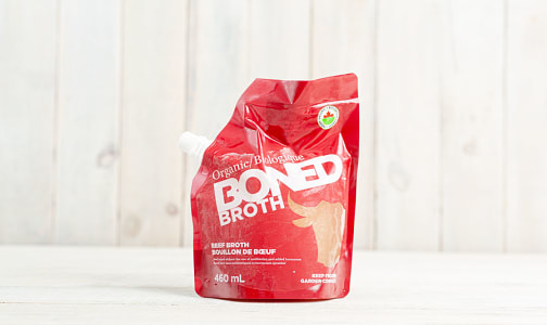 Organic Beef Bone Broth (Frozen)- Code#: PM0907