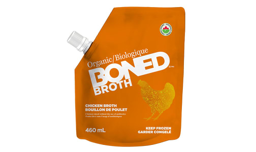 Organic Chicken Bone Broth (Frozen)- Code#: PM0909