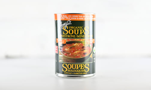 Low Sodium Minestrone Soup- Code#: PM0918