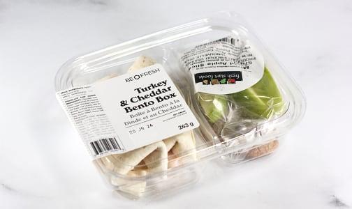 Turkey & Cheese Wrap Bento Box- Code#: PM0964