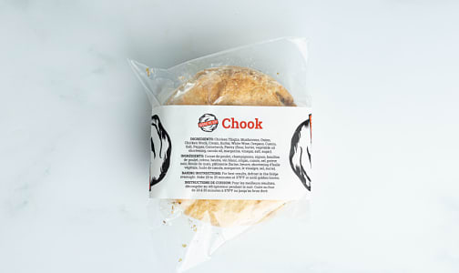 Chook Pie - Chicken and Mushroom (Frozen)- Code#: PM0972