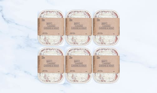Meat Lasagna - 6 Pack (Frozen)- Code#: PM0977