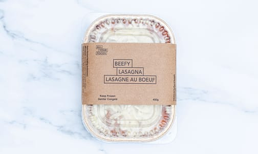 Meat Lasagna - Single (Frozen)- Code#: PM0983
