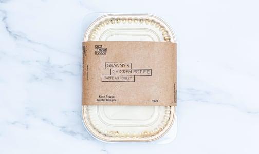 Chicken Pot Pie - Single (Frozen)- Code#: PM0986
