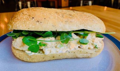 Gluten Free Egg Salad Sandwich- Code#: PM1092