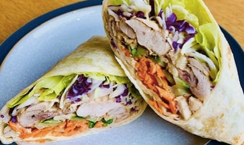 Thai Peanut Chicken Wrap- Code#: PM1095