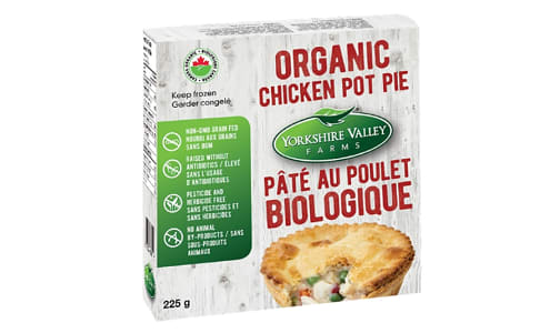 Organic Individual Chicken Pot Pie (Frozen)- Code#: PM1110