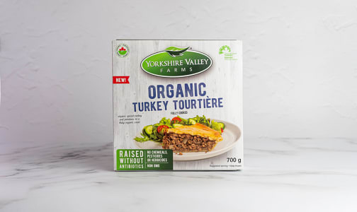 Organic Turkey Tourtiere (Frozen)- Code#: PM1114