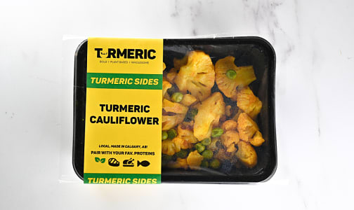 Turmeric Braised Cauliflower & Sweet Peas (Frozen)- Code#: PM1133