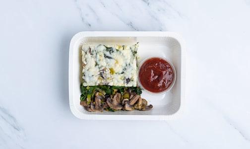 Mushroom and Leek Frittata- Code#: PM1149