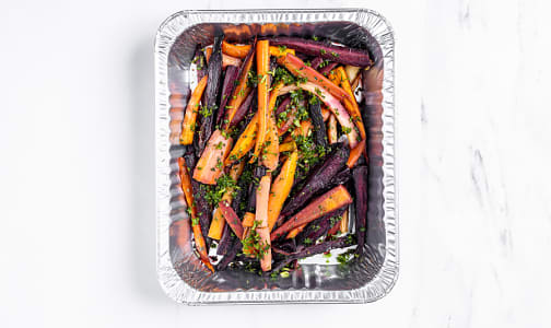 Organic Honey Roasted Rainbow Carrots and Fresh Thyme- Code#: PM1177