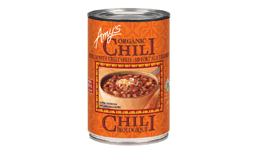 Organic Medium Chilli w/ Vegetables- Code#: PM117