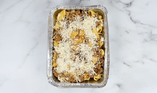Organic Baked Rigatoni with Beef Bolognese (Frozen)- Code#: PM1197
