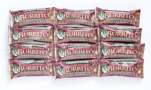 Shredded Beef Burrito - CASE (Frozen)- Code#: PM1201-CS