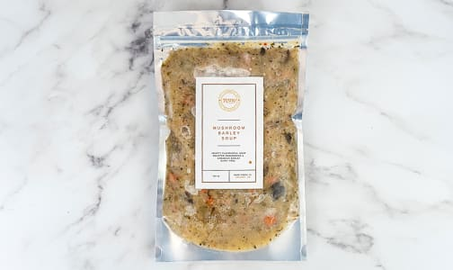 Mushroom Barley Soup (Frozen)- Code#: PM1215