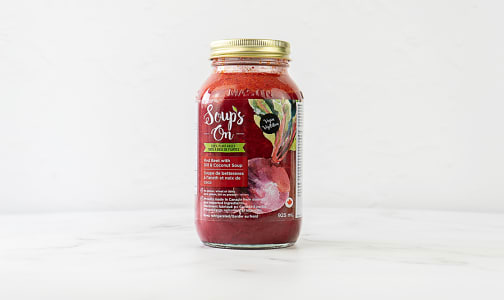Red Beet with Dill & Coconut Soup- Code#: PM1222