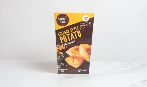Cheddar Style Perogies (Frozen)- Code#: PM1225