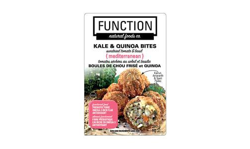 Kale Quinoa Bites, Mediterranean (Frozen)- Code#: PM1239