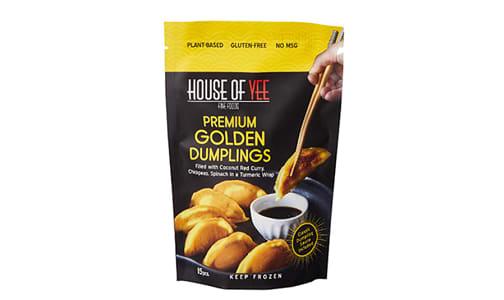 Golden Vegan Dumplings (Frozen)- Code#: PM1250