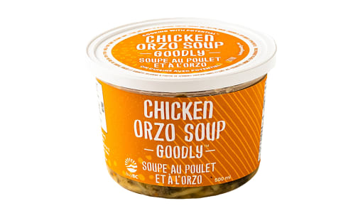 Chicken Orzo Soup- Code#: PM1288