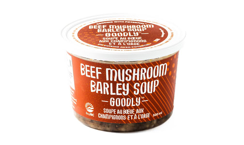 Beef Mushroom Barley Soup- Code#: PM1289