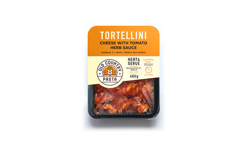 Cheese Tortellini with Tomato Herb Sauce- Code#: PM152