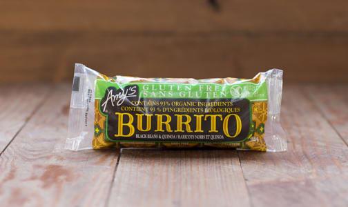 Black Bean & Quinoa Burrito (Frozen)- Code#: PM2500