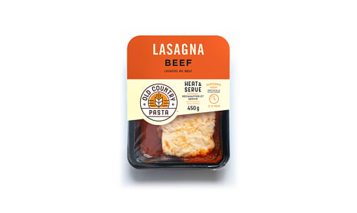 Beef Lasagna - Heat & Serve- Code#: PM256