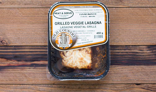 Veggie Lasagna - Heat & Serve- Code#: PM257