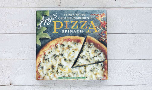 Organic Spinach Feta Pizza (Frozen)- Code#: PM277