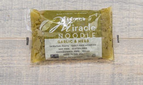 Garlic & Herb Fettuccine Shirataki Noodles- Code#: PM3330