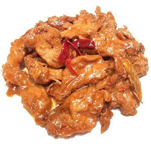 Vegetarian Ginger Chicken (Frozen)- Code#: PM3904