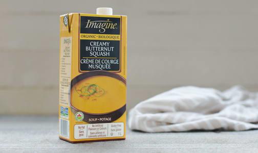 Organic Creamy Butternut Squash Soup- Code#: PM450