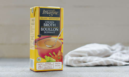 Organic Chicken Broth- Code#: PM451
