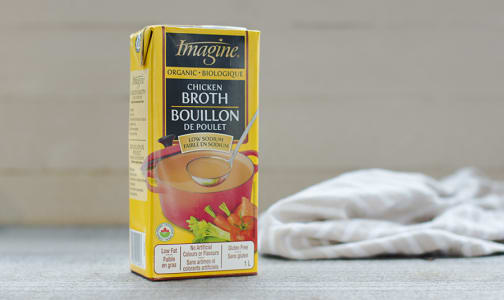 Organic Low Sodium Chicken Broth- Code#: PM461