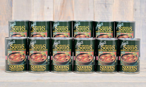 Organic Minestrone Soup - CASE- Code#: PM482-CS