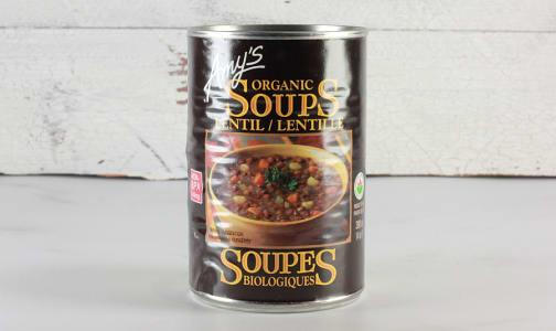 Organic Lentil Soup - BPA Free- Code#: PM483