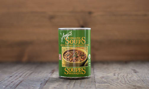 Organic Lentil Vegetable Soup - BPA Free- Code#: PM485