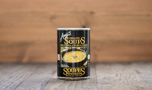 Organic Split Pea Soup, Low Fat- Code#: PM488
