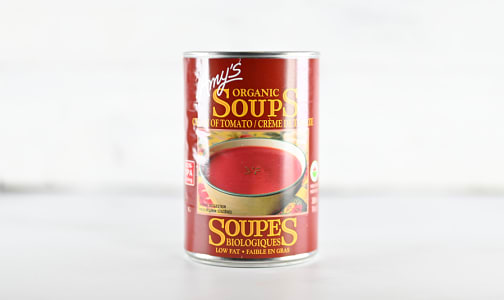 Organic Cream of Tomato Soup - BPA Free- Code#: PM490