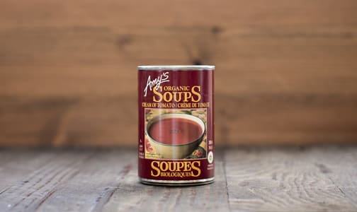 Organic Cream of Tomato Soup - BPA Free- Code#: PM490