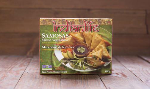 Mixed Vegetable Samosa (Frozen)- Code#: PM531