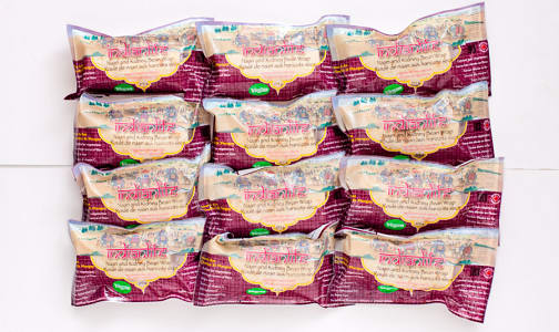 Naan Wrap w/ Kidney Beans & Brown Rice - CASE (Frozen)- Code#: PM546-CS